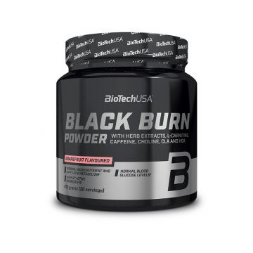 Biotech USA Black Burn Drink Powder 210g | Passion Fruit