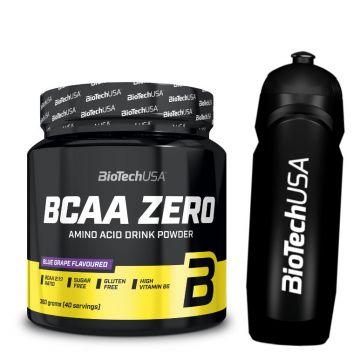 BioTech USA BCAA ZERO 360G + Water Bottle
