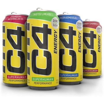 Cellucor C4 Carbonated Energy Drink 500ml
