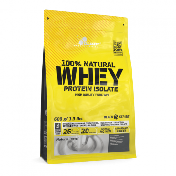 Olimp 100% Natural Whey 600g | Unflavoured