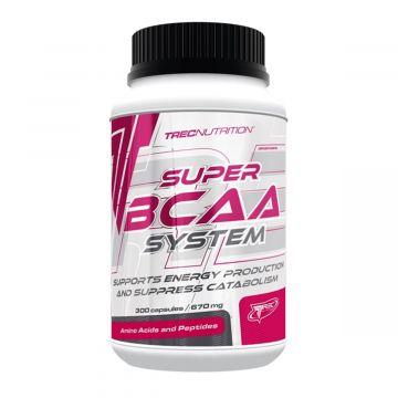 Trec Super Bcaa System 300caps + Free pillbox