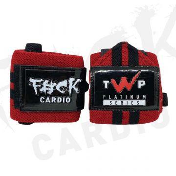 TWP Nutrition F#ck Cardio Wrist Wraps 16''