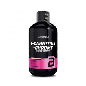 Biotech USA L-carnitine + Chrome 500ml