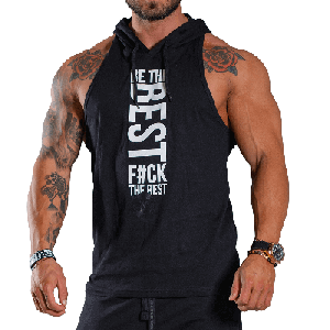 Olimp Men's Stringer Hoodie | Black