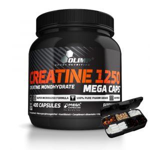 olimp-creatine-monohydrat-400-megacaps-pillbox