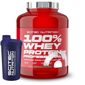 Scitec 100% Whey Protein Professional 2350g + Free shaker