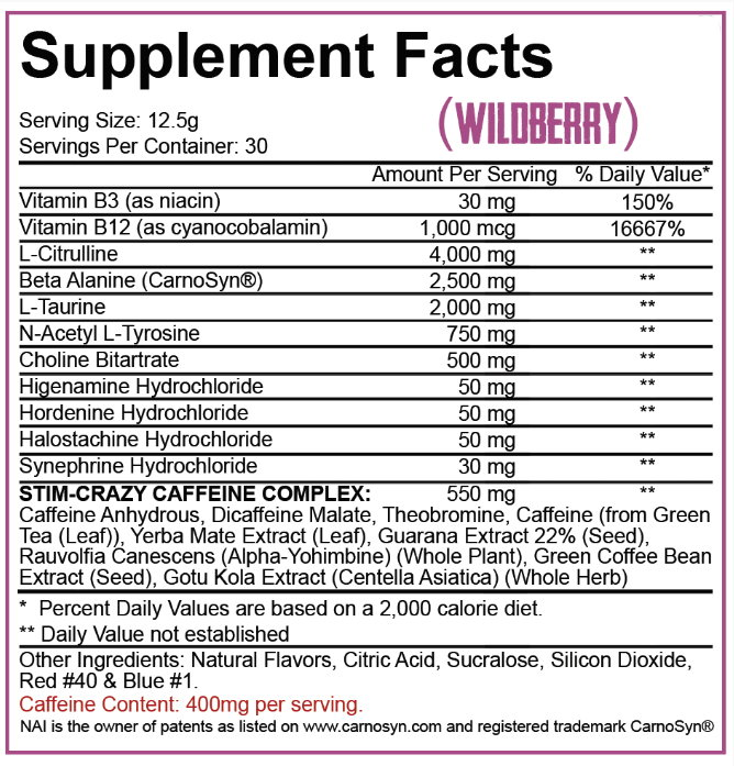 5% nutrition 5150 ingredients
