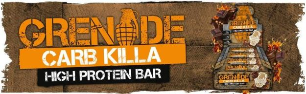 grenade carb killa protein bar banner