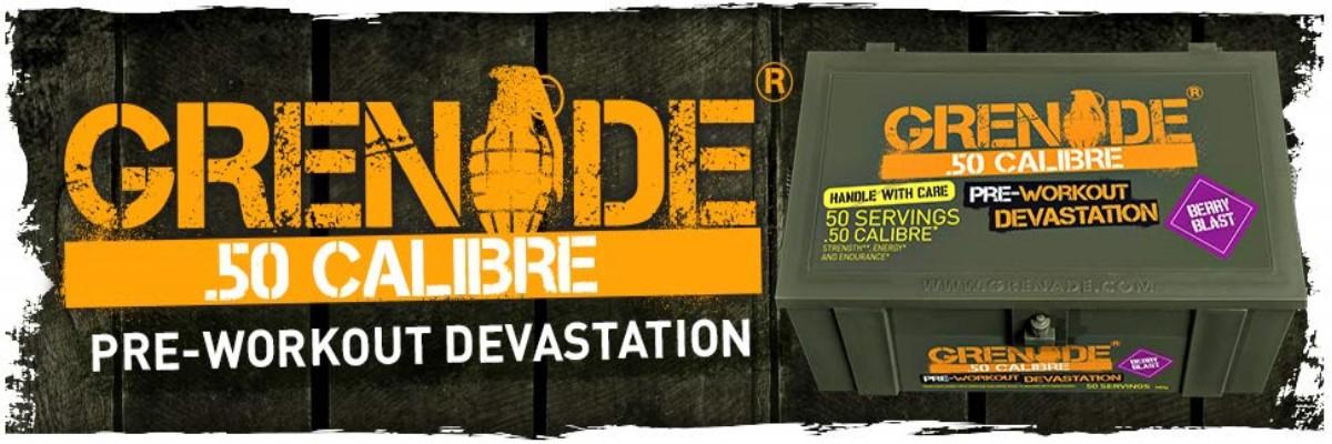 Grenade .50 Calibre Pre Workout