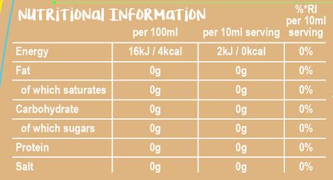 skinny food creamer ingredients