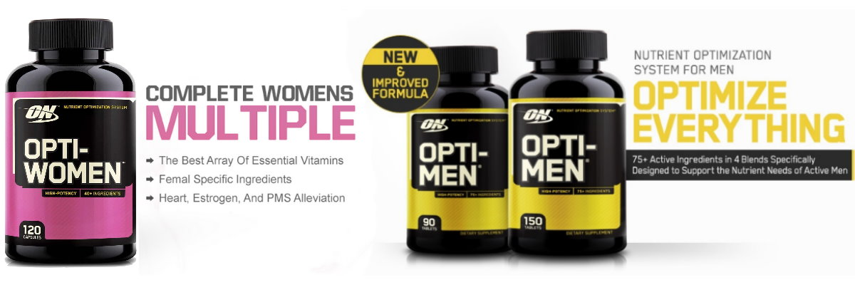 Optimum Multivitamin For Men and Women
