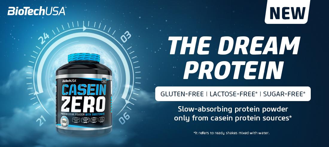 New Biotech Usa Casein Zero 908g   The Dream Protein