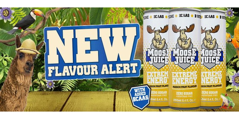 Moose Juice 250ml Passion Fruit NEW!