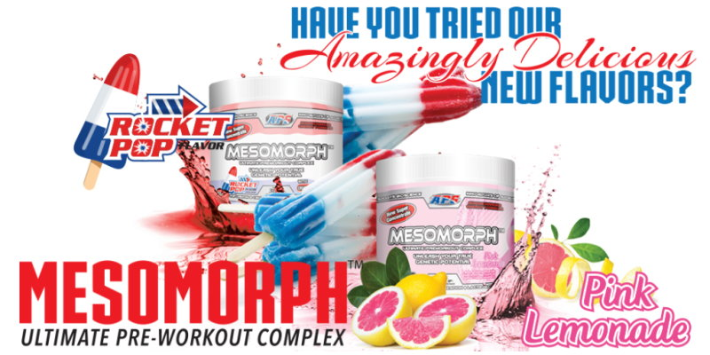 King of pre workout! APS Mesomorph