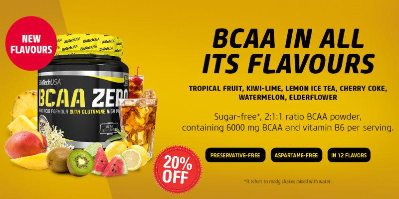 Biotech USA BCAA Zero New Flavors