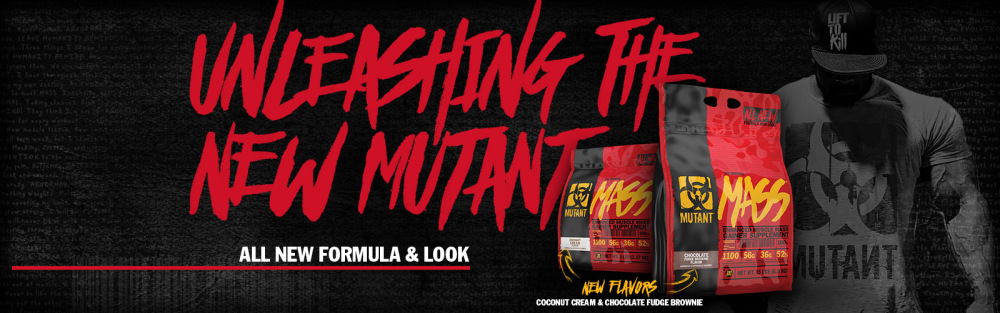 mutant mass 2,27kg new formula