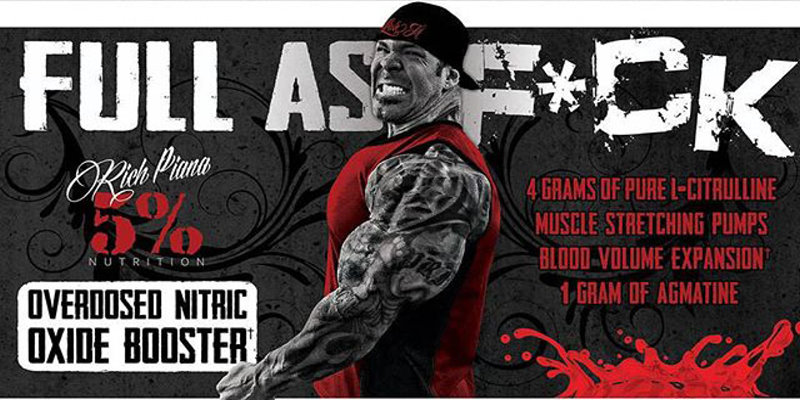 Rich Piana Full As F*ck Nitric Oxide Booster