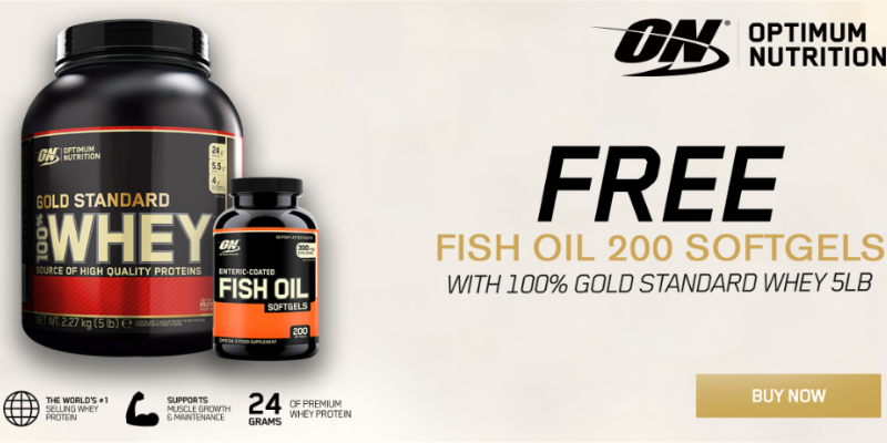 Optimum Gold Standard Whey Offer