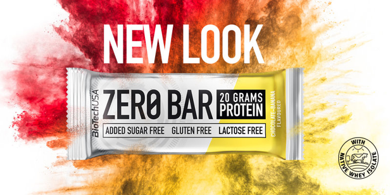 New look of Biotech USA Zero Bar